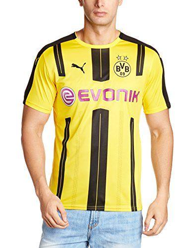 Puma Mens Borussia Dortmund Home 16-17 Replica Football Shirt - Yellow/Black, Medium Borussia Dortmund Home Shirt 2016 2017 - M (Barcode EAN = 4260263945524). http://www.comparestoreprices.co.uk/december-2016-4/puma-mens-borussia-dortmund-home-16-17-replica-football-shirt--yellow-black-medium.asp