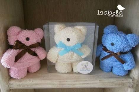 Resultado de imagen para osos toalla baby shower