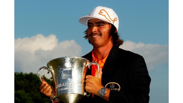 """For Vince: Rickie Fowler's first """"W"""" - 2012 PGA Tour - Wells Fargo Championship"""