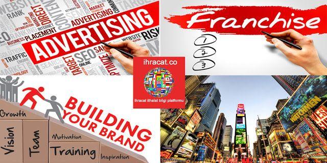 franchise pazarlama taktikleri Franchise için doğru hedef pazarı çekmek için, franchise'ınızı tanıtmak için bu pazarlama taktiklerini kullanın.  Pazarlamayı bir bina olarak düşünecek olursak, pazarlamayı oluşturan parçalar; reklam, doğrudan posta, satış, tanıtım, halkla ilişkiler ve online pazarlama diyebiliriz.