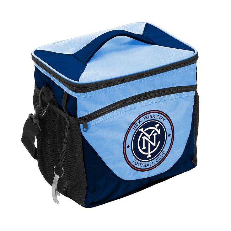 Logo Brand New York City FC 24-Can Cooler, Multicolor