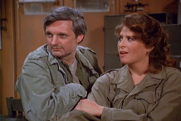 M*A*S*H: Season 6, Episode 21 Temporary Duty (13 Feb. 1978) mash, 4077, Hawkeye Pierce , Captain Benjamin Franklin Pierce, Alan Alda