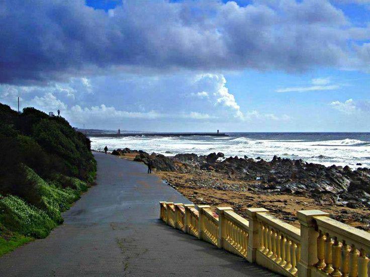 Praia na Foz-Porto