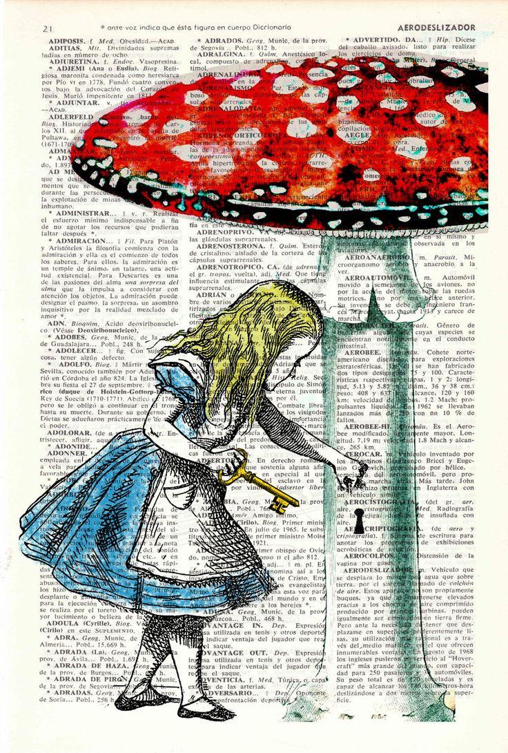 Les 25 meilleures id es de la cat gorie humour britannique for Alice dans le miroir balthus