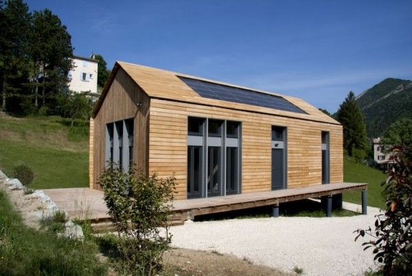 autoconstruction maison kit terminee passive house