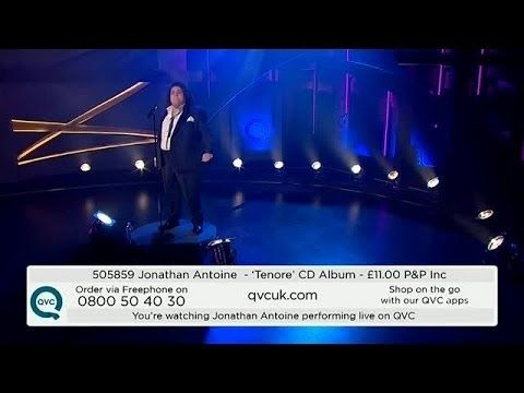 ▶ Watch Jonathan Antoine's amazing live performance of Love Changes Everything - YouTube