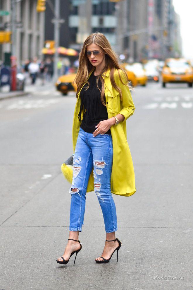 Уличная мода: Уличная мода Нью-Йорка от Каролины Антониадес