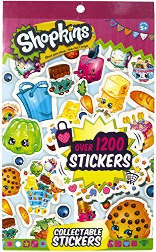 Shopkins Stickers Book