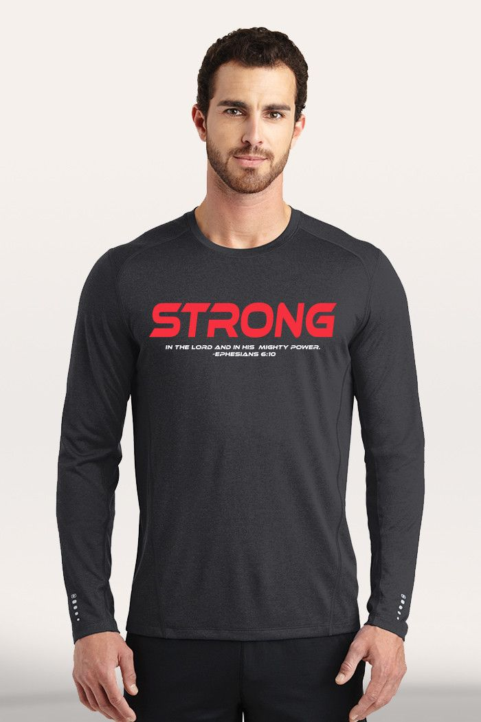Strong Men's Active Long Sleeve