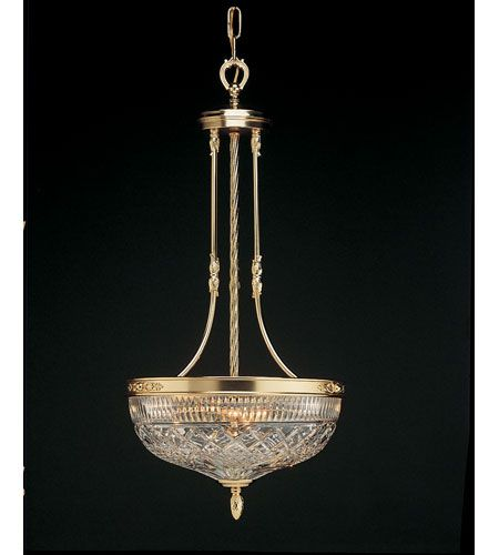Waterford Crystal Gold Plated Beaumont Ceiling Fixture 849-285-32-00 $1500