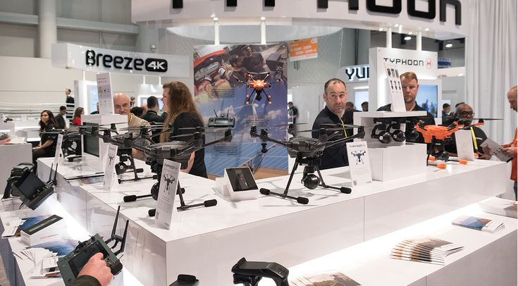 Drones were everywhere at CES 2017