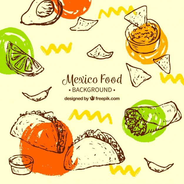 Download Creative Mexican Food Background For Free Food Background Wallpapers Mexican Food Recipes Food Graphic Design
