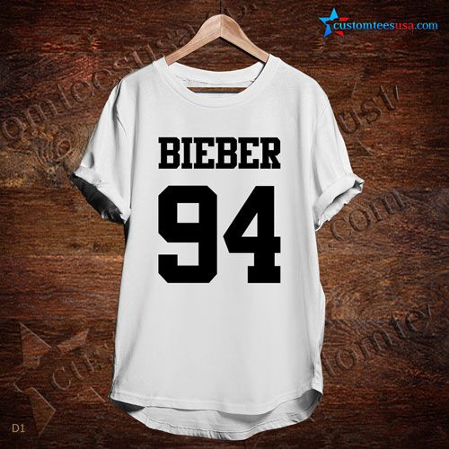 Bieber 94 Music T-Shirt – Adult Unisex Size S-3XL