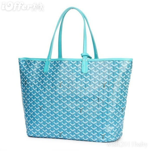 "Tired of my long champ totes....im going w a E goyard tote now....but in a dif.color!...but  what color is the question"".."