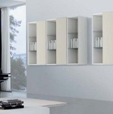 Parete attrezzata moderna di design Tonin Casa Leaves – C05