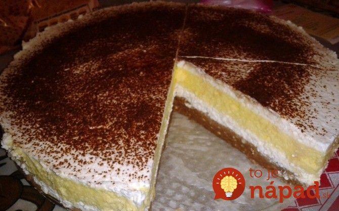 Fantastický dezert bez cukru s úžasným krémom, ktorý chutí ako zmrzlina.