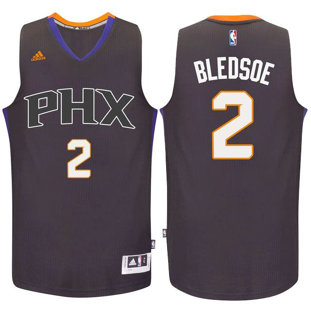 suns #2 eric bledsoe 2016 swingman alternate black purple jersey