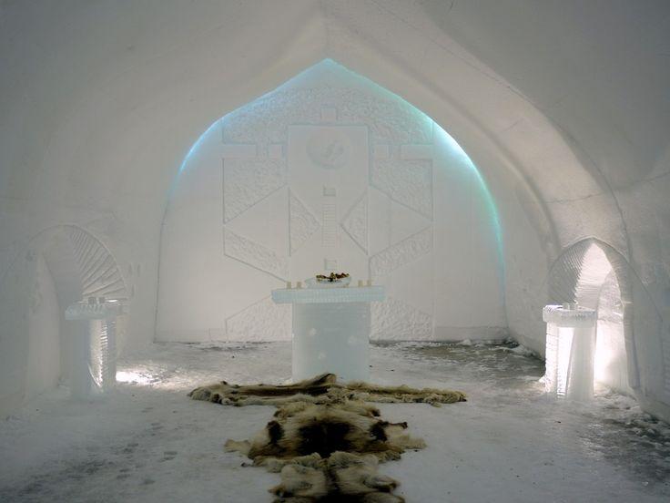 #Lapland #wedding #icechapel #Laponsko #svadba #ľad