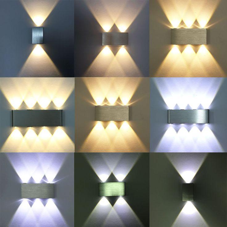 4W 6W 18W LED Wandlampe Wandleuchte Effektlampe Flurlampe Wohnzimmer Beleuchtung In Mbel Wohnen