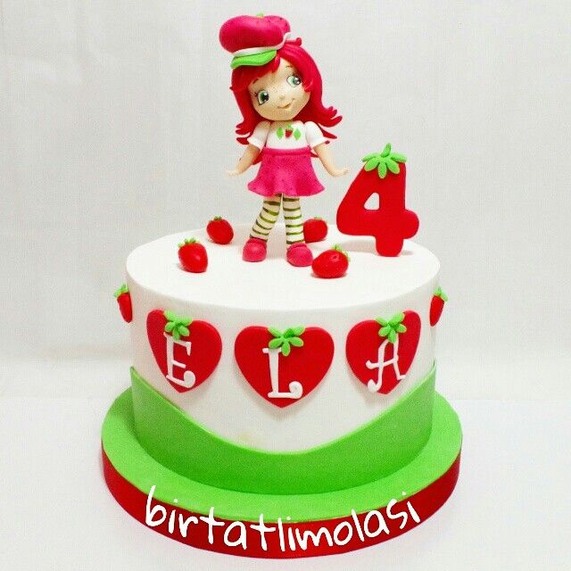 Çilek kiz pasta - strawberryshortcakes