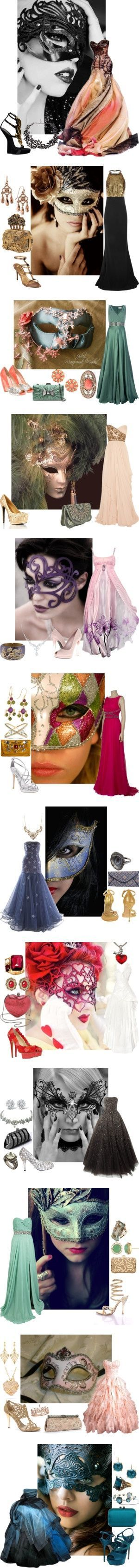 Perfect ideas for a Masquerade Ball!