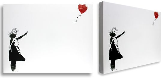 Girl with a Red Balloon by Banksy