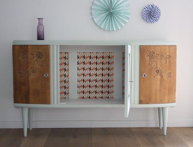 les 68 meilleures images du tableau buffets enfilades sur pinterest art d co buffets et. Black Bedroom Furniture Sets. Home Design Ideas