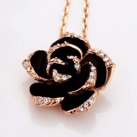 55 best roses images on pinterest black roses beautiful roses black roses diamond necklace aloadofball Gallery