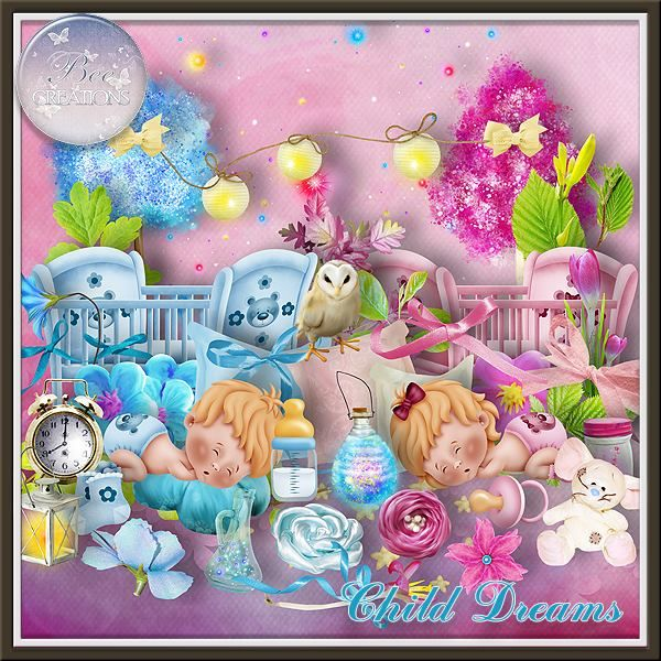 **NEW** Child Dreams by Bee Creation  Available @ E-Scape and Scrap https://www.e-scapeandscrap.net/boutique/index.php?main_page=index&cPath=113_219 Digital Scrap Designs http://digitalscrapdesigns.com/digitalscrapstore/index.php?main_page=index&cPath=40_455 Scrap from France http://scrapfromfrance.fr/shop/index.php?main_page=index&cPath=88_267
