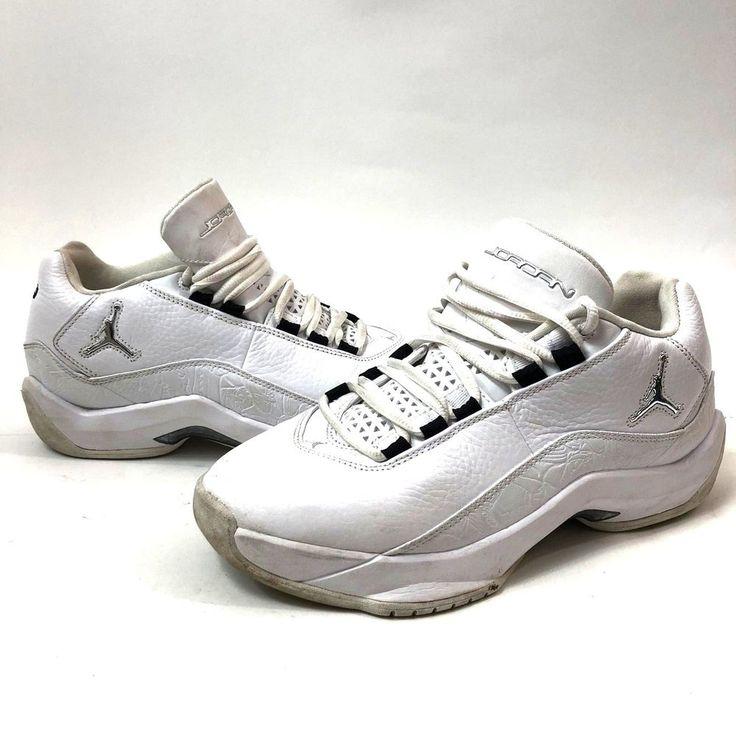Jordan Flight 23 317707-161 LN3 Mens Size 9.5 EUR 41 White  #Jordan #BasketballShoes