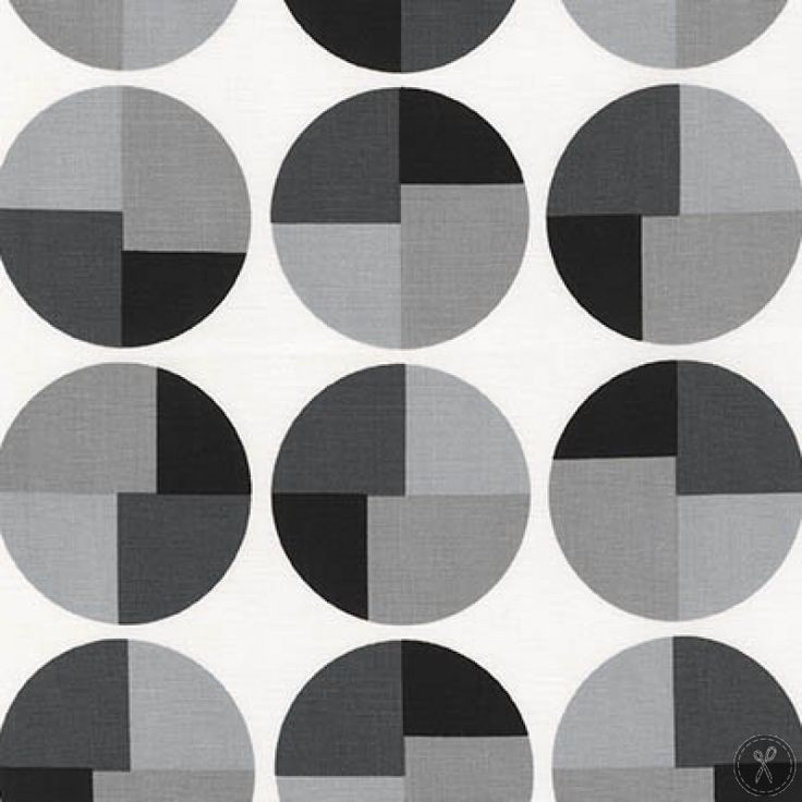 Geo Pop Canvas Circles - Pepper