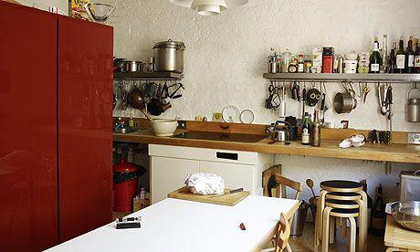 Fergus Henderson's kitchen. Photograph: Rachael Smith