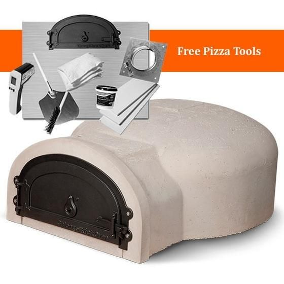 Build the brick oven of your dreams starting with the Chicago Brick Oven 500 Wood Fired Pizza Oven Kit