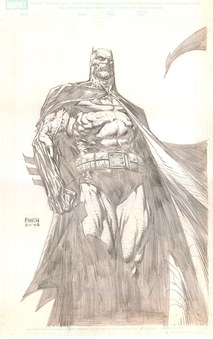 Batman by David Finch Comic Art | 3°_ DAVID FINCH_ BATMAN ...