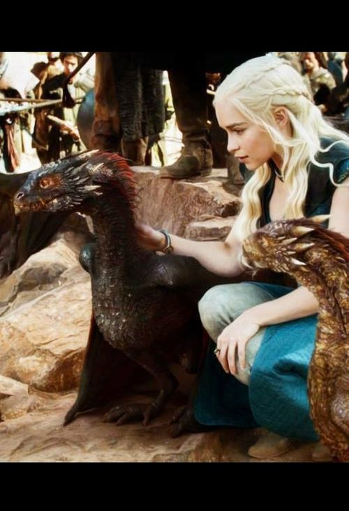 Daenerys Targaryen and Dragons ~ Game of Thrones