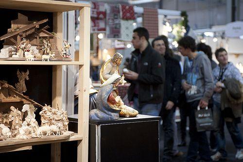 I presepi in Artigiano in Fiera sono vere e proprie opere d'arte