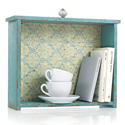 Great idea for old drawers, use as a bookshelf... mmh... maybe my grandma has still some...