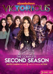 Victorious,$7.99: Season 2 of Victorious shines even brighter as the students re-audition for their spots at Hollywood Arts, get ready for their first-ever prom, and drive a giant cupcake through the streets! Put your hands together for more music, more drama, and hilarious behind-the-scenes bloopers!