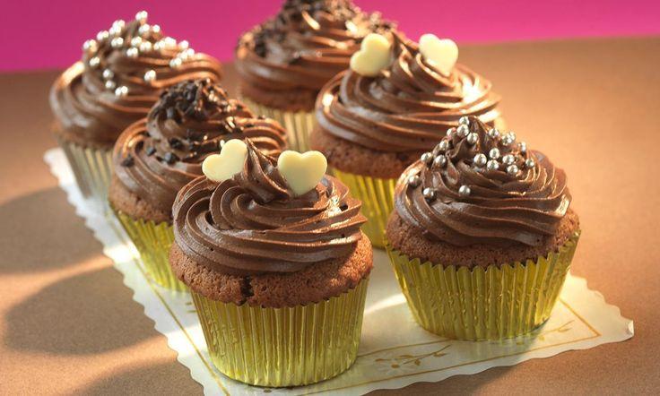 Baileys-cupcakes  opskrift   Dr. Oetker