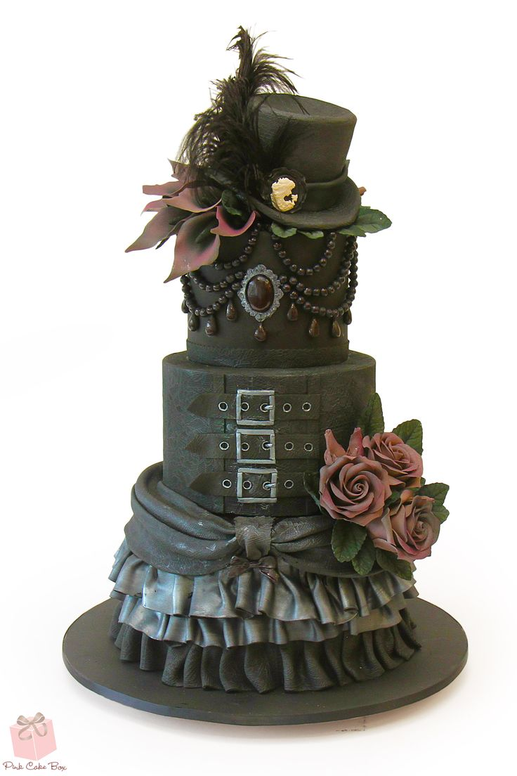 25 Best Ideas About Gothic Birthday Cakes On Pinterest
