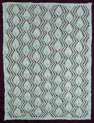 Queen Anne's Lace Doily Afghan Free Pattern..FREE PATTERN ♥ 3500  FREE patterns to knit ♥ http://pinterest.com/DUTCHYLADY/share-the-best-free-patterns-to-knit/