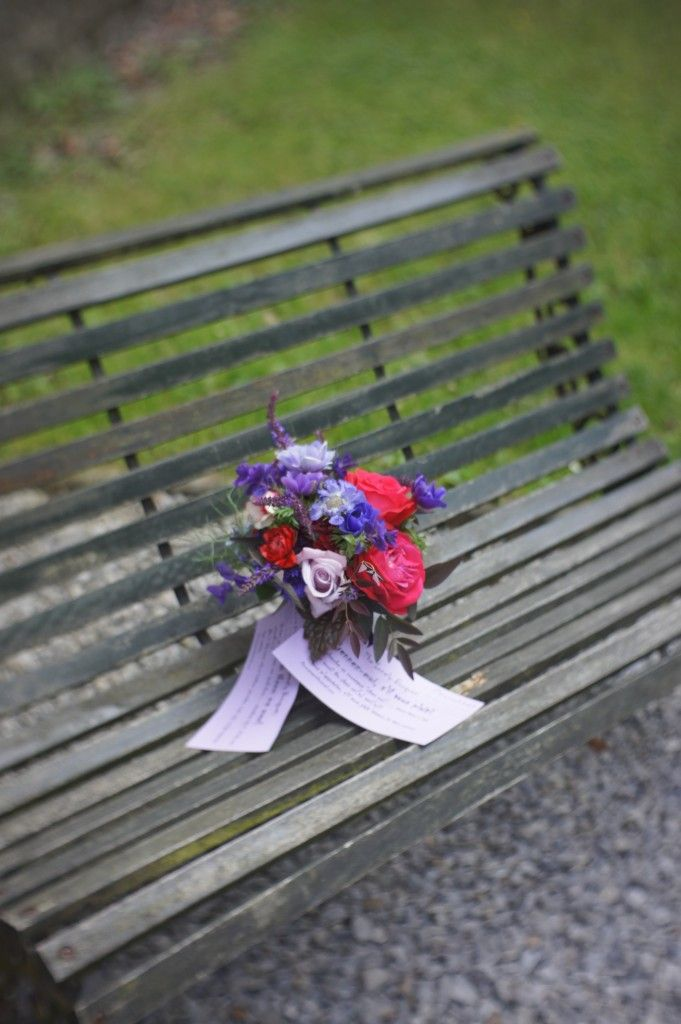 The Lonely Bouquet, what a beautiful idea, to make up some bouquets and leave them with a message in various places,  if I found one of these I would be beside myself with joy! Spreading a little happiness, beautiful!