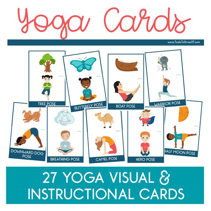 Pediatric Yoga Cards - Tools To Grow