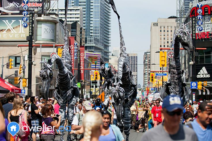 Yonge - Church Corridor - Two most vibrant and colorful streets in Toronto bringing together diverse crowds of people from all over the globe for festivals and celebrations