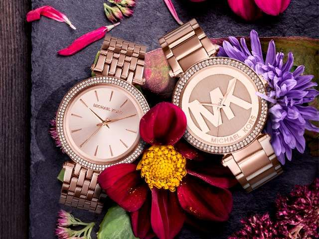 Michael Kors Rose Gold-Tone Watch