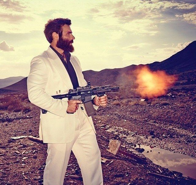 Gun-Toting, Model-Chasing Man-Child Dan Bilzerian Arrested Without Bail: Today is no normal day, friends. Do you feel it in the air? Every woman's human's worst nightmare has been jailed. Breathe a sigh of relief because Christmas just came early.  Dan Bilzerian, man of a thousand mistakes and enough money to cover those mistakes twice-over, has finally met his match: jail. In case you aren't up to snuff on semi-celebs...