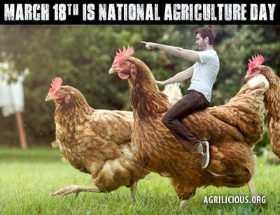 agrilicious | Goat Rancher Update: Today is National Agriculture Day!