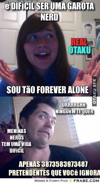 meme otaku meme garota nerd otaku depressivo meme tirinha