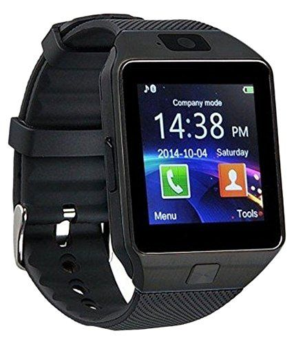 Nokia 225 Dual SIM Compatible Bluetooth Smart Watch Phone With Camera and Sim...Wireless Connectivity BT Camera. Receive Notifications from Facebook Whatsapp QQ WeChat Twitter Fitness & Activity Tracker Time Schedule Read Message or News Sports Health Pedometer Sedentary Remind & Sleep Monitoring. Digital Touch Screen Display Loud Speaker Mic & Multi-Language Support. Compatible with Tablet PC & iOS Android Blackberry Windows Phones