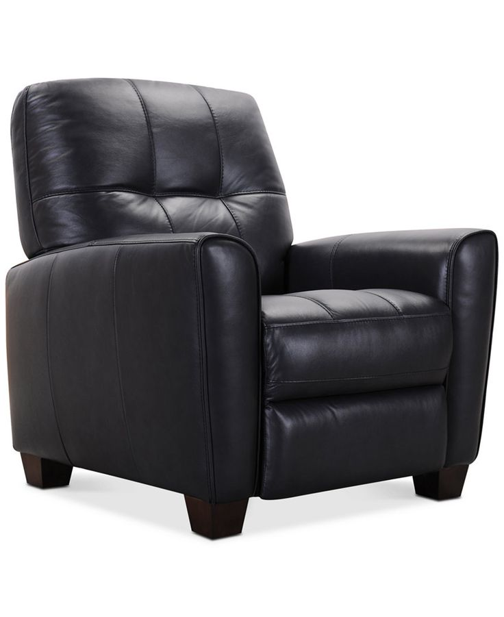 Kaleb Tufted Leather Recliner - Chairs u0026 Recliners - Furniture - Macyu0027s  sc 1 st  Pinterest & 77 best furniture images on Pinterest | Family room Accent chairs ... islam-shia.org